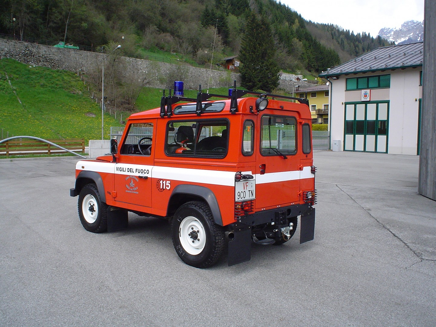 LAND ROVER *B5 018 retro